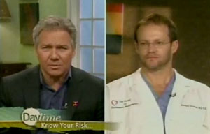 Dr Richman on Television for National Heart Health Week